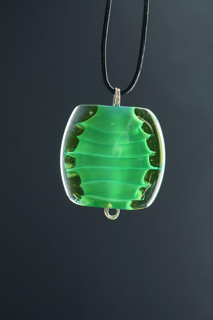 Lampwork bead & silver-------------- GlassFlemming / Janita SImula