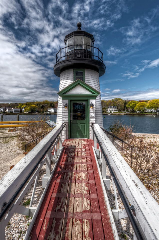 """lighthouse """"Sentinels of the Sea"""" Mystic Seaport - Mystic, CT #scenesofnewengland #soCT, #soNElighthouse"""