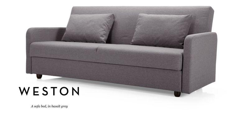 Weston Sofa Bed in basalt grey | made.com