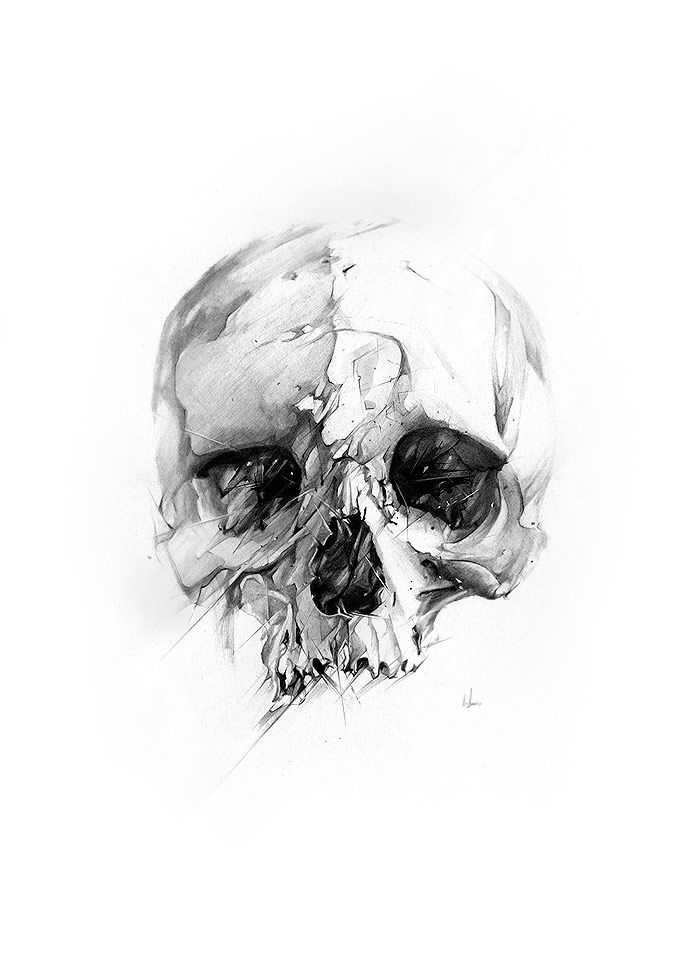 Skull by Alexis Marcou