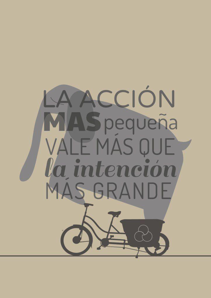 La acción más pequeña vale más que la intención más grande.