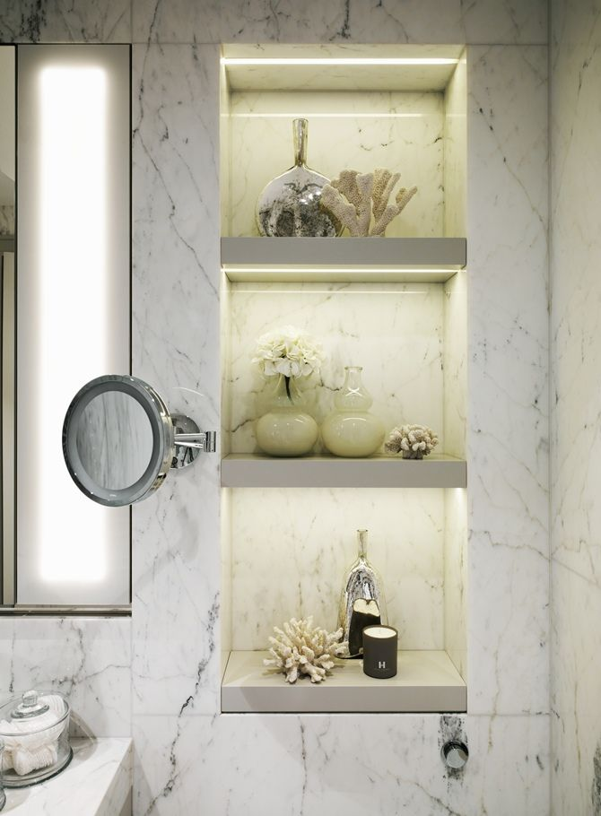 Kelly Hoppen Assina Chal Na Su A Lighting Design Recessed Shelves And Chalets