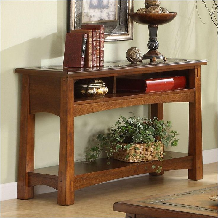 Riverside Craftsman Home Console Table - 2915  $490.50