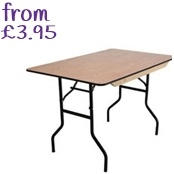 Furniture hire from Yahire, London's best value furniture hire company. Enquire today for table hire, chair hire and much much more. http://www.yahire.com/