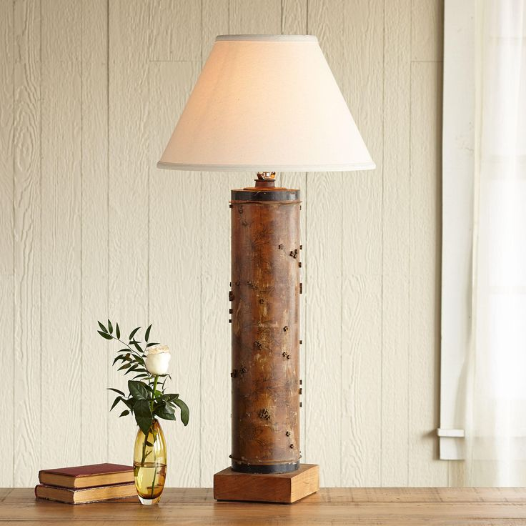 One of a kind howard vintage roller lamp