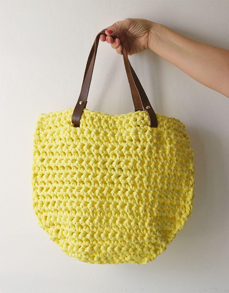 Horgolt női táska (széles-pakolós) | Termosz.com