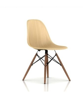 New molded wood Eames chair