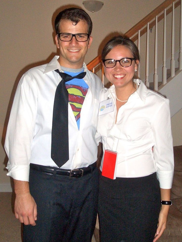 Clark Kent costume. The superman tee was available from Junk Food. One of our employees had one....