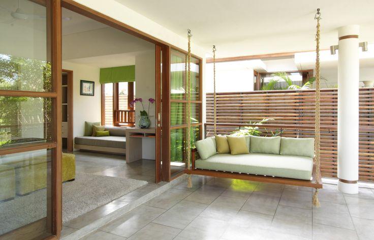 Villa Dewi Sri bedroom exterior view