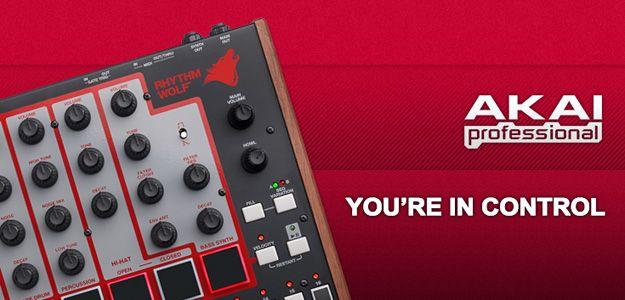 Завивајте во ритамот на AKAI!  Rhythm Wolf Analog Drum Maschine! цена: 13.600 ден.