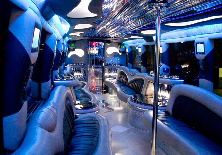 Large Party Bus Rental