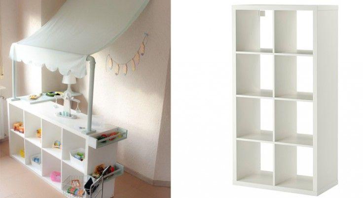 Ikea Hack 20 Idees Pour Relooker Les Meubles Des Enfants Ikea Chambre Enfant Etagere Chambre Enfant Meuble Rangement Enfant