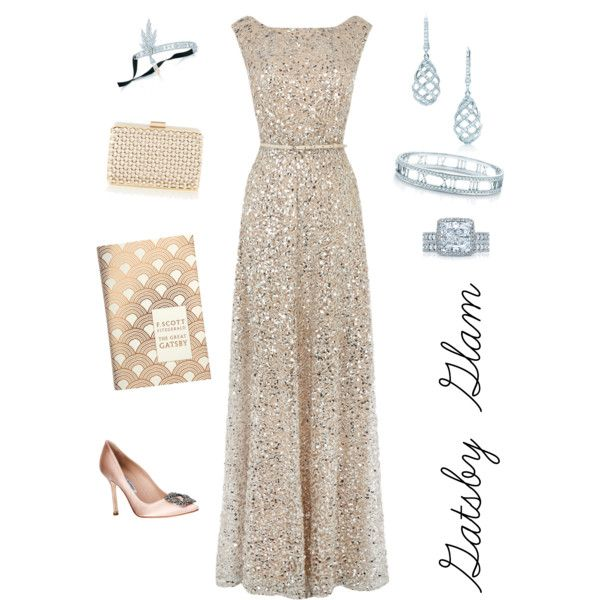 Gatsby Glam - I will wear this to senior prom, mark my words!!