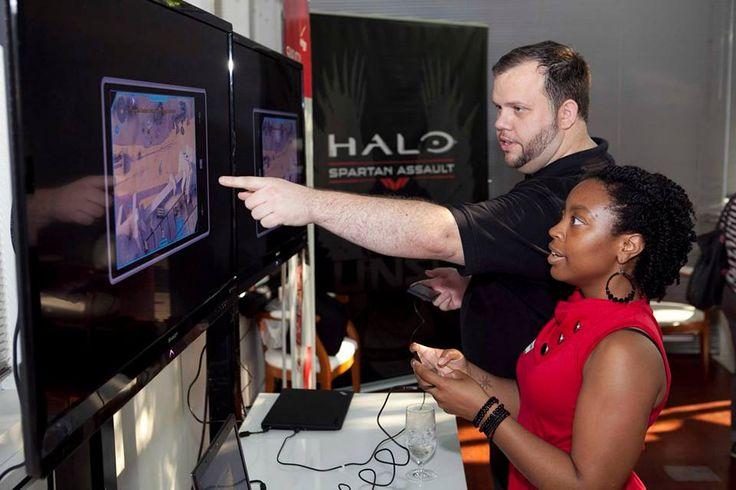 """halo: Spartan Assault Preview Party"" #VZWBuzz Blogger  #VWZBuzz #technology #tablet #nokia #windows #surface #entrepreneur #halo #gamer"