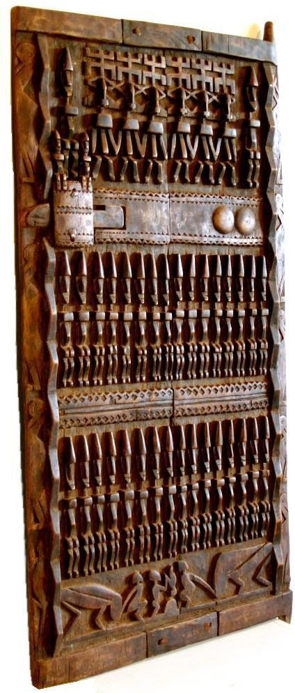 Dogon door, Mali - Cris Figueired♥