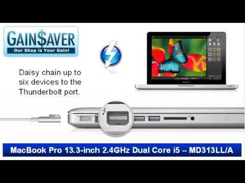 """Nice GainSaver Reviews & Deals: Used Cheap Refurbished MacBook Pro 13.3"""" Dual Core i5"""