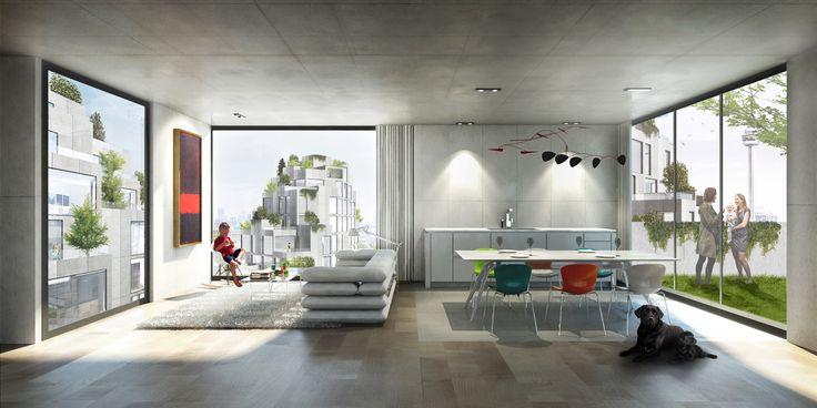 Gallery of BIG Designs Moshe Safdie-Inspired Habitat for Toronto - 5