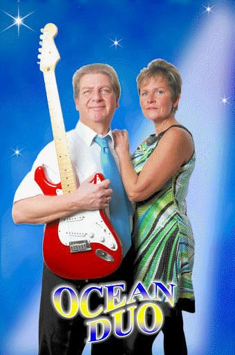 """Local Artistes Ocean Duo La Marina Costa Blanca """"OCEAN DUO"""" are Gunn and Paul Jennings,are a Norwegian/British collaboration bringing together many years of musical experience. They now live in Spain,close to Alicante."""