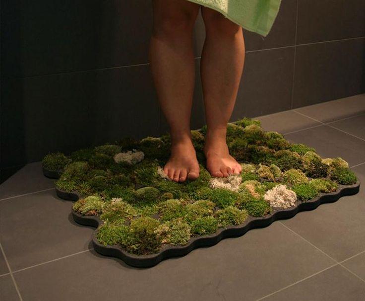nature-7  Tapete de musgo vivo (para o banheiro)! :)