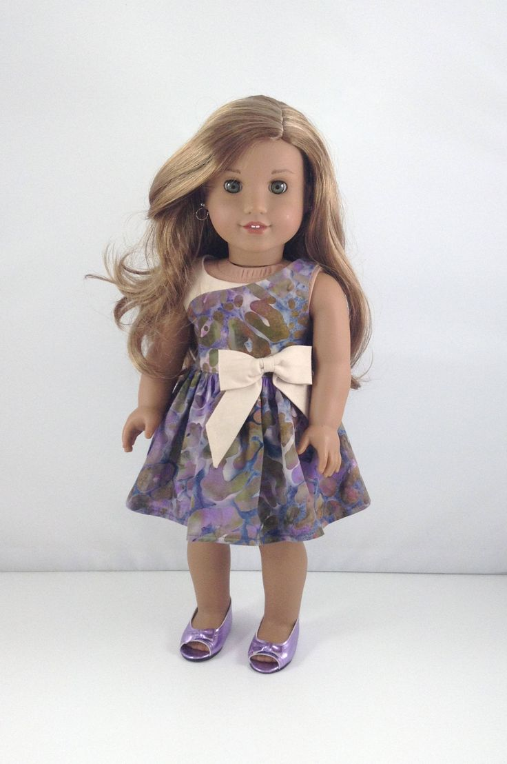 "18T Uptown Girl - Dress and Shoes for 18"" Dolls like American Girl (R) Doll Lea, Tenney, Grace ,McKenna, Rebecca, Kit and Saige by MjsDollBoutique18T on Etsy"