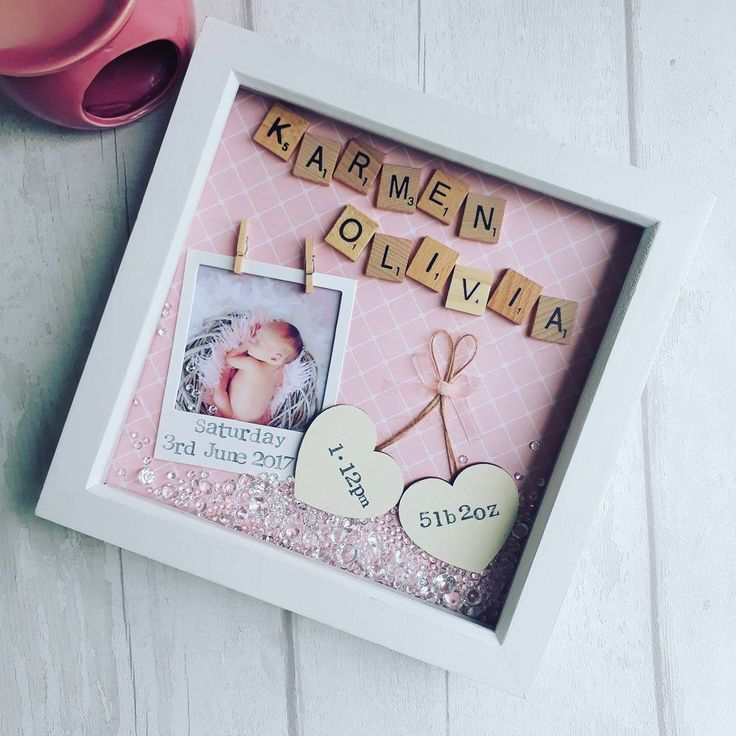 Good morning lovelies! I hope you all had a LUSH weekend!!! Heres one I made recently for a newborn baby girl perfect for any little princess! These are available to shop on our etsy page (link in bio) #goodmorning #shopsmall #shophandmade #pinklovers #giftoftheday #pink #babiesofinstagram #fitforaprincess #prettyinpink #littleone #newmother #babygirl #birth #handmadeisbetter #wahm #newbornbaby #handmadepretties #shabbydecor #shabbychic #instapic #scrabbleframe #craftersofinstagram #...