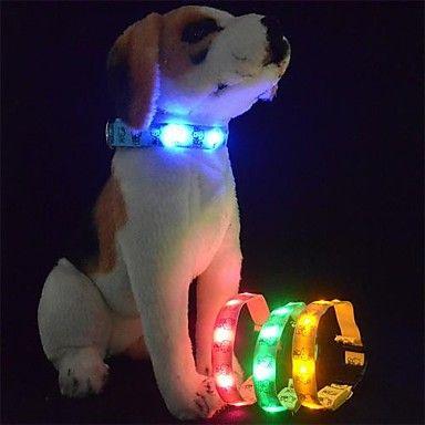 Leuke Katten LED verlichting Halsbanden voor huisdieren (verschillende kleuren) – EUR € 4.56