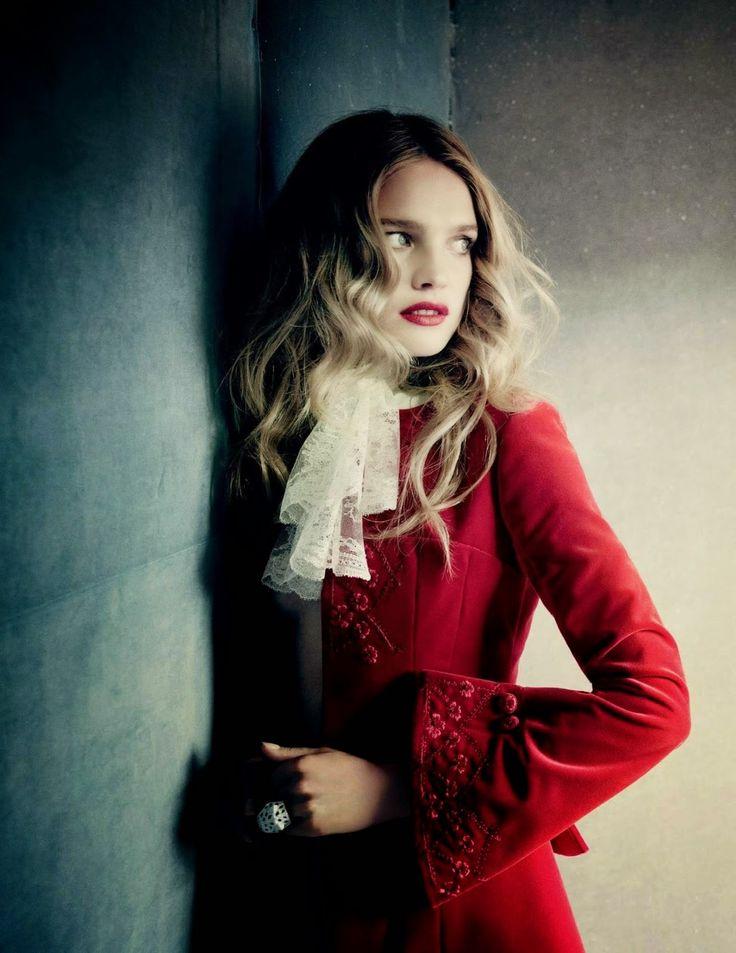 Natalia Vodianova for Vogue Russia December 2014 via Smartologie blog