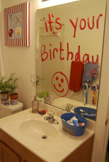 20 ways to make your child feel special on his/her birthday!