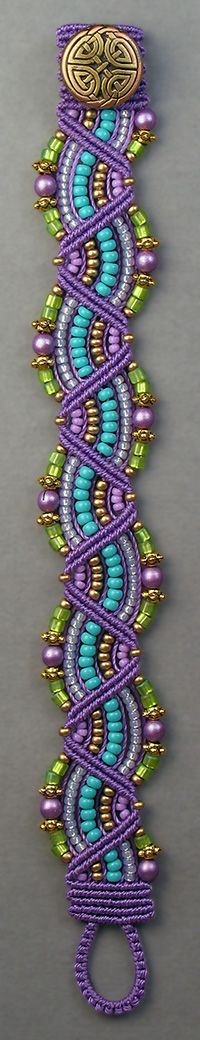 Micro-Macrame Jewelry kit by Joan Babcock $26.00 plus shipping LOVE this color palette!!!!!!!!!!!!