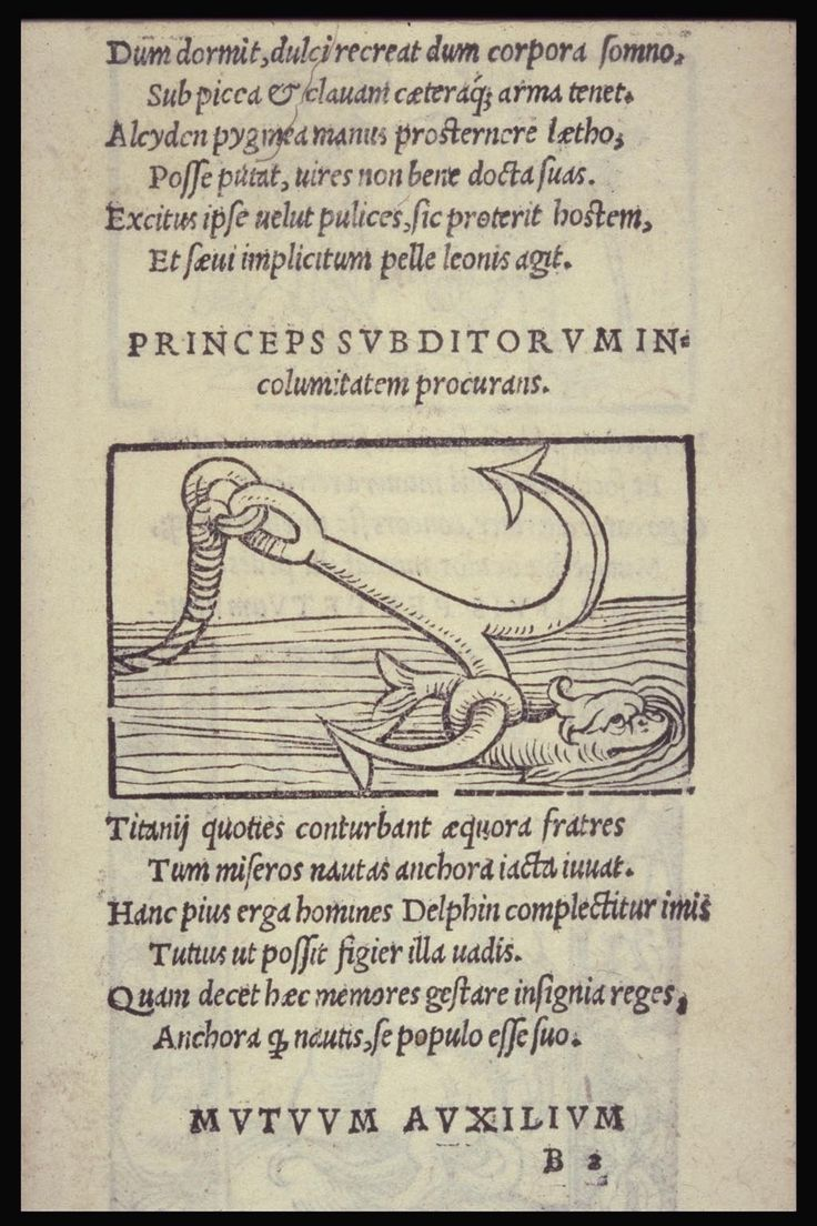 emblem of the Prince from Alciato Emblematum liber Augsburg: 1531