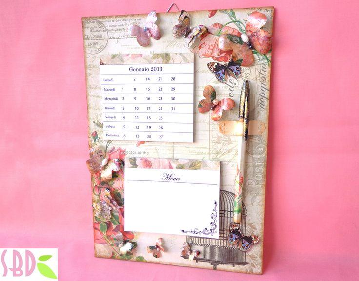 Favoloso Oltre 25 fantastiche idee su Calendari da parete su Pinterest  CK04
