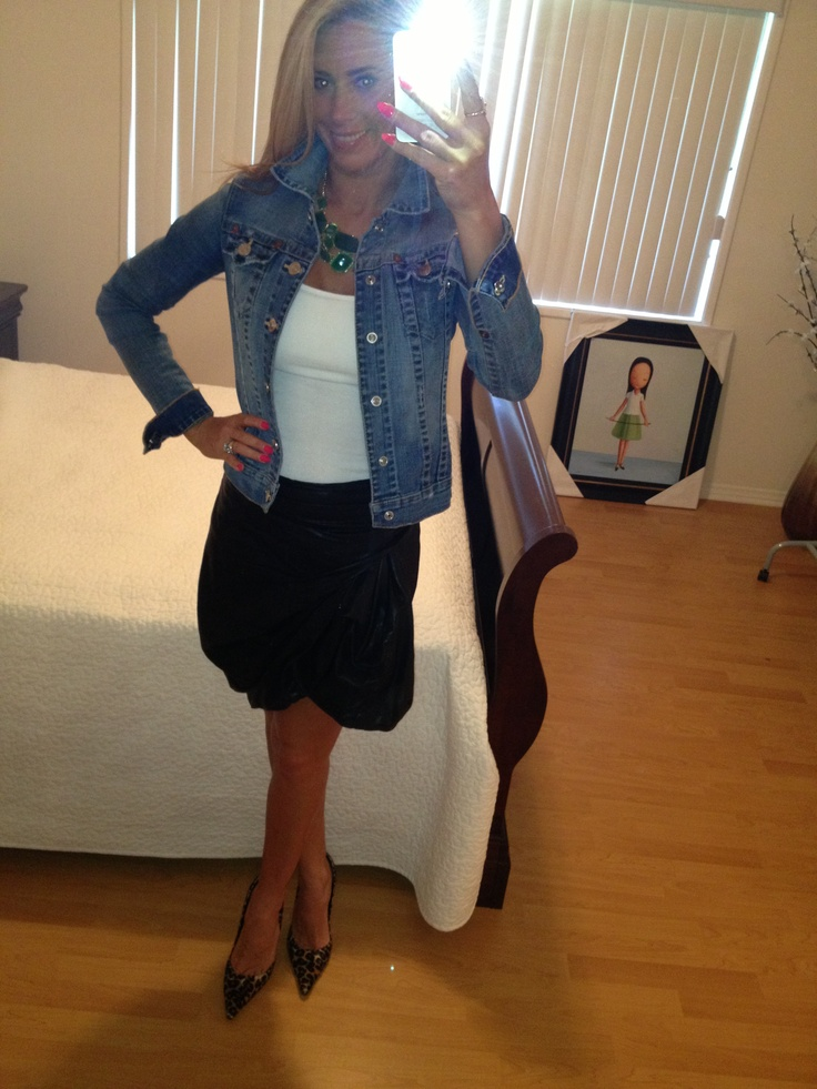 All saints leather skirt outfit of the day pinterest