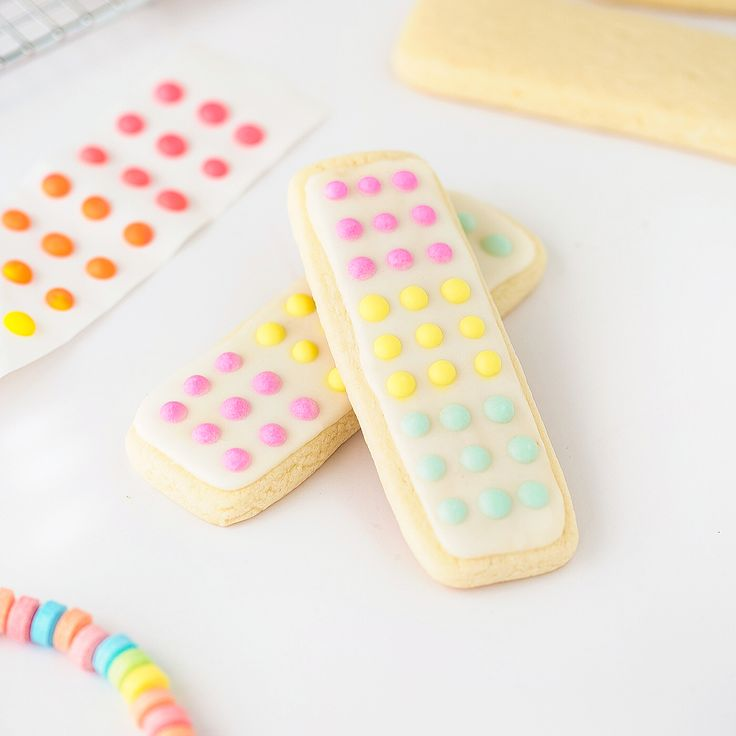 Candy button cookies