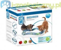 HAGEN Tor do zabawy dla kota ze świecącą piłką Speed Circuit CATIT DESIGN SENSES