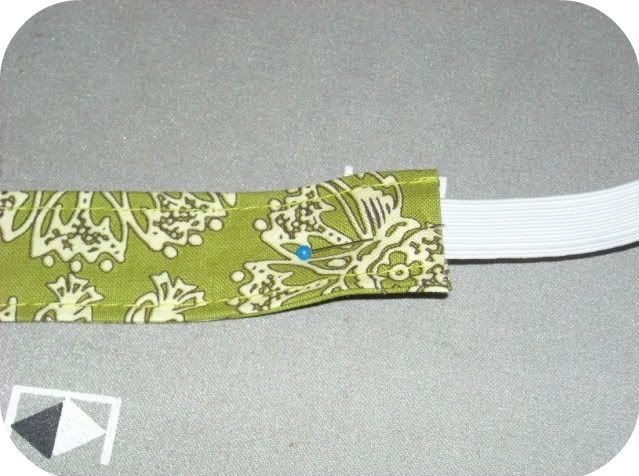how to make elastic headbands with fabric