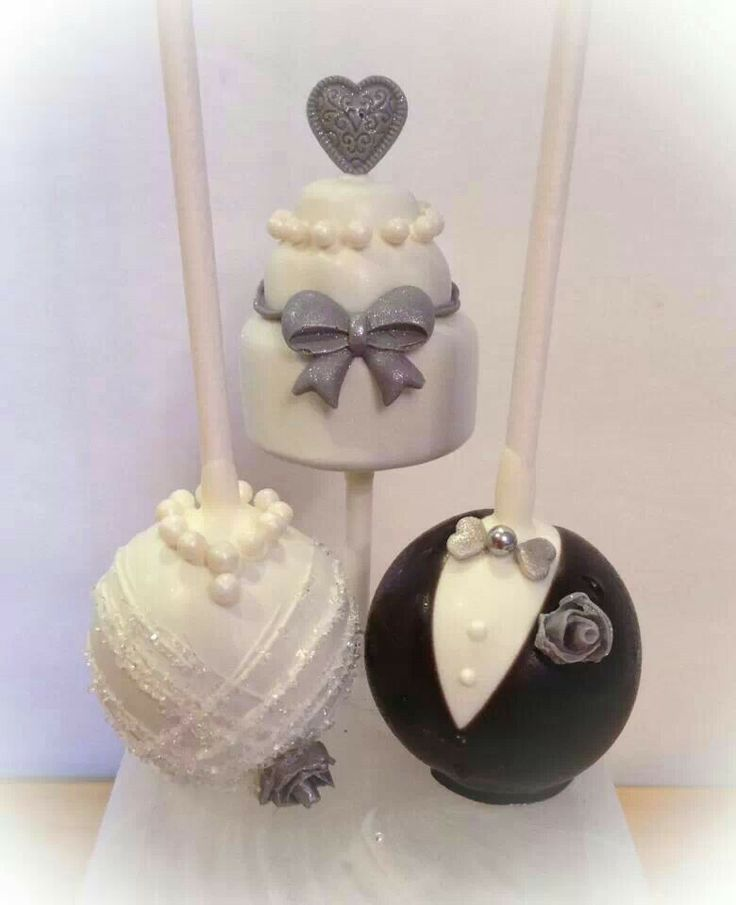 Wedding cake pop