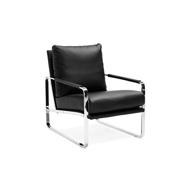 Fauteuil Confort Noir Fauteuil Design Confortable Fauteuil
