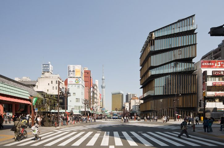 """Asakusa Culture Tourist Information Center"" (2012) 