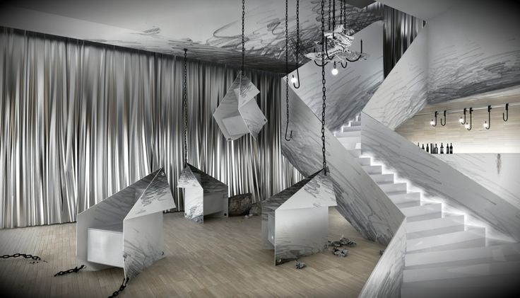 ubojnia slaughterhouse interior by karina wiciak - designboom | architecture