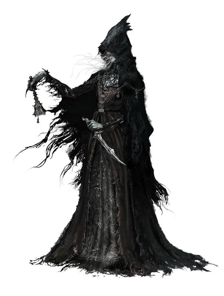 Bloodborne Concept Art - Chime Maiden