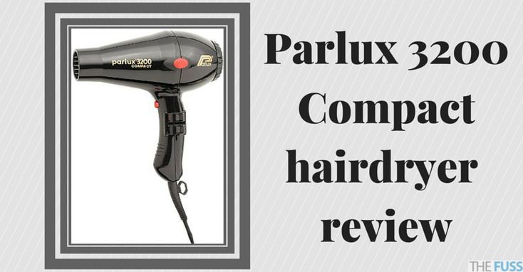 The Parlux 3200 Compact hairdryer is one of the top market hair dryers due to its efficiency and its lightweight design