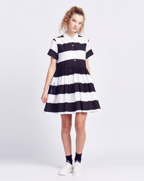 Lazy Oaf Zebra Crossing Dress