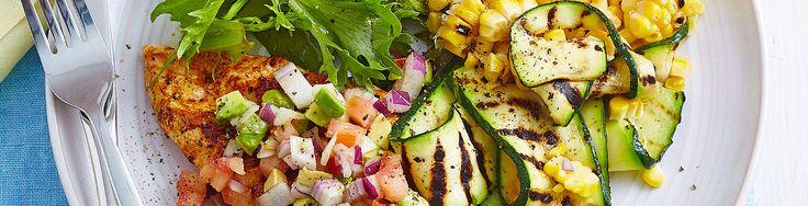 Chicken, Zucchini & Corn Nacho Salad recipe from Simple & Fresh Dinner Box