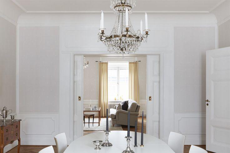 Scandinavian interior. Fantastic Frank Real Estate. Stucco.