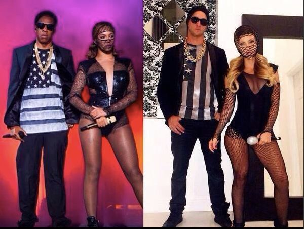 beyonce jay-z on the run costume
