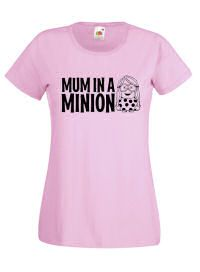 #Mum In A #Minion #Ladies #Tshirt Perfect Gift For Mothers Day £11.99 + Free UK Delivery