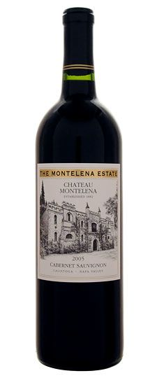 """2005 Chateau Montelena """"Estate"""" Napa Valley Cabernet Sauvignon  This is one of Napa's Classics. Modeled after the great Cabernet- based wines of Bordeaux's Medoc, this wine seeks balance and elegance over power. Medium-bodied with dark fruits, spice and structured tannins, the wine needs some air to reveal its currant fruit and tobacco notes. Built to age. $105Chateau Montelena, 2005 Chateau"""