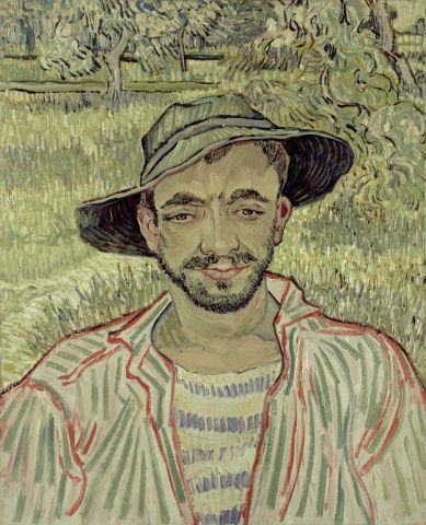 Il Giardiniere- Van Gogh, V.,1889 National Gallery of Modern and Contemporary Art (Galleria Nazionale d'Arte Moderna e Contemporanea)  Rome, Italy   http://www.gnam.beniculturali.it/index.php?en/1/home