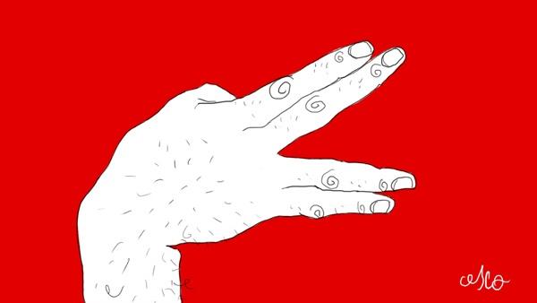 Hand-Job  (in progress) by FRANCESCO TORTORELLA, via Behance