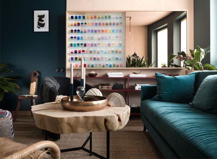Olga Fradina Transformieren typische Wohnung der sowjetischen Zeit in moderne Wohnung #EklektischeEinrichtung
